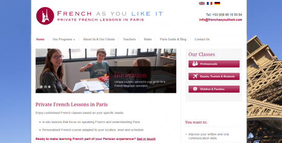 French As You Like It – english copywriter in Paris