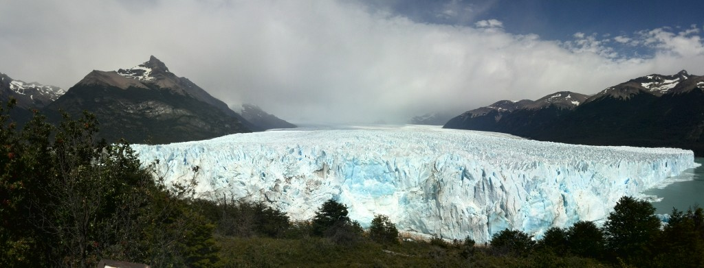 Image of the Perito Morreno glacier in Argentine Patagonia