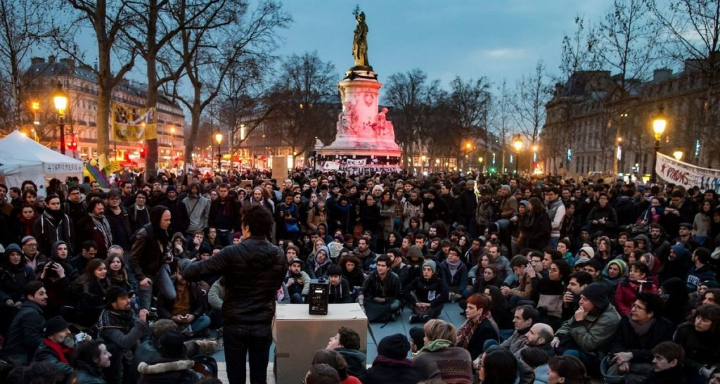 Nuit Debout - Protests in Paris