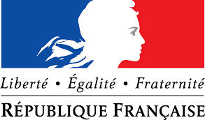 Image representing French identity based on Liberté, Egalité, Fraternité